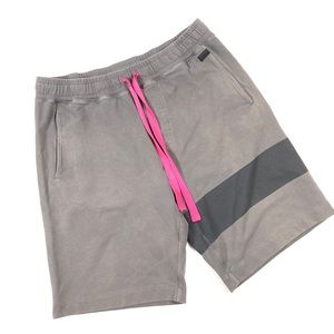Men's Lululemon stripe terry shorts